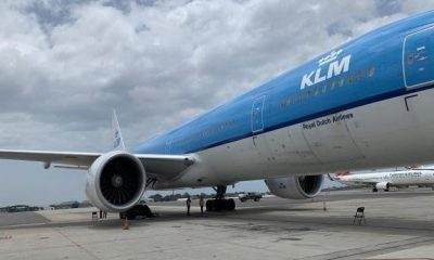 KLM, Accra, Amsterdam