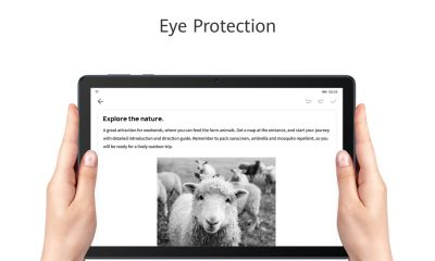 Study, watch videos and get things done with HUAWEI MatePad T 10 series' eye protection mode