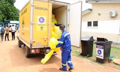 Covid, vaccination, Medical waste,