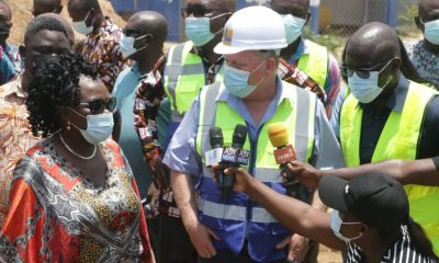 Water projects, Sanitation minister